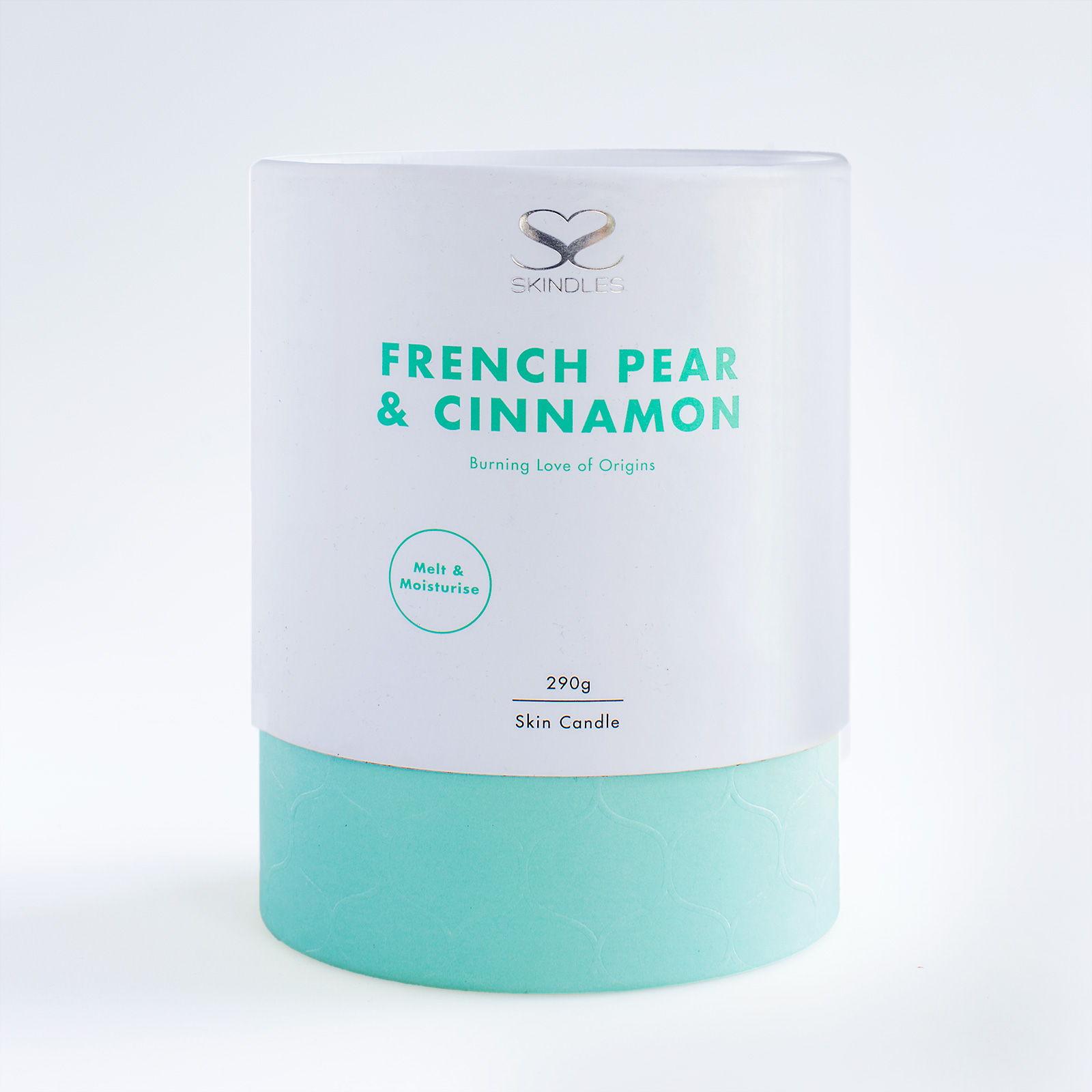 french pear and cinnamon candle