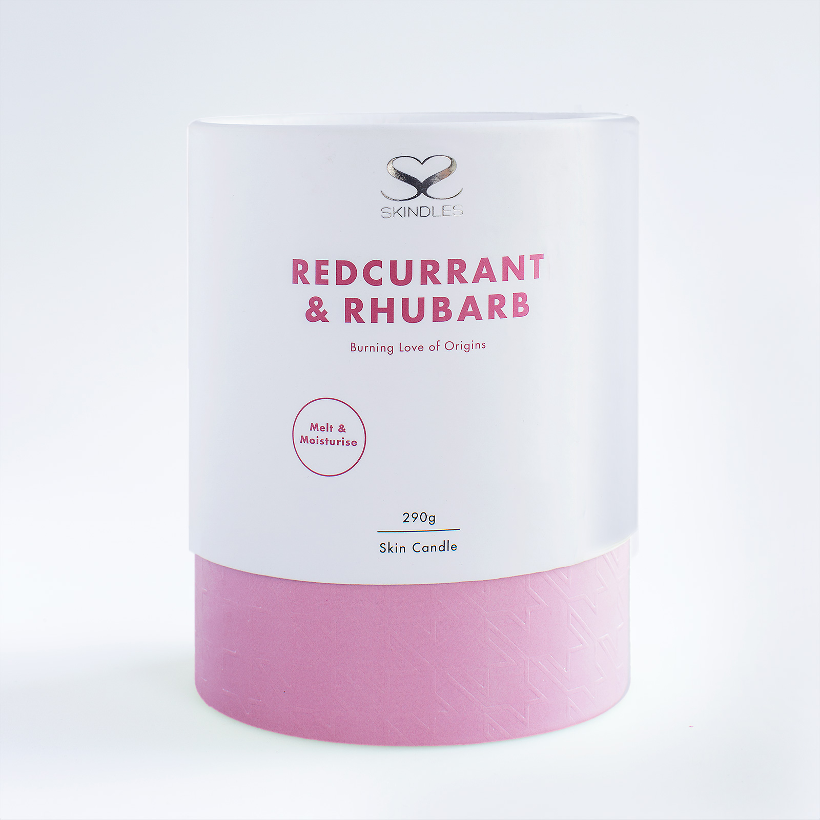 redcurrent and rhubarb candle
